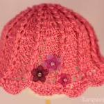 Crochet Baby Hat /3-6 Mont..