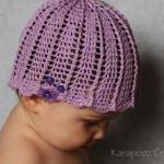 Crochet Baby Hat/6-12 Mont..