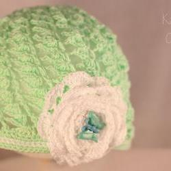 Crochet Baby Hat/6-12months